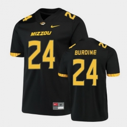 Men Missouri Tigers Ishmael Burdine Untouchable Game Black Jersey