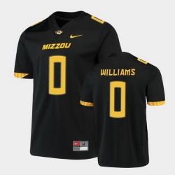 Men Missouri Tigers Tre Williams Untouchable Game Black Jersey