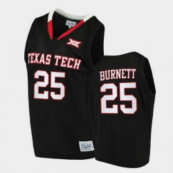 Men Texas Tech Red Raiders Nimari Burnett Alumni Limited Black Basketball 2020 21 Jersey
