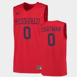 Men Dayton Flyers Rodney Chatman College Basketball Red Jersey 0A