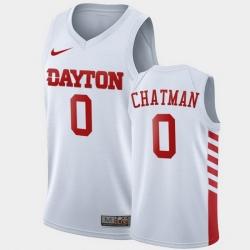 Men Dayton Flyers Rodney Chatman College Basketball White Jersey