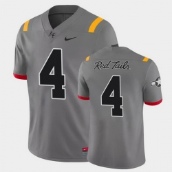 Men Air Force Falcons Haaziq Daniels Game Anthracite Red Tails Alternate Jersey