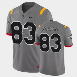 Men Air Force Falcons Jake Spiewak Game Anthracite Red Tails Alternate Jersey