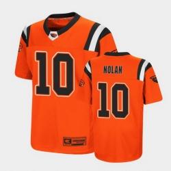 Men Oregon State Beavers Chance Nolan Replica Orange College Football Jersey
