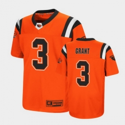 Men Oregon State Beavers Jaydon Grant Replica Orange College Football Jersey