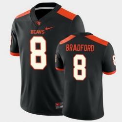 Men Oregon State Beavers Trevon Bradford College Football Black Game Jersey