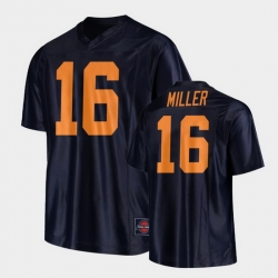 Men Illinois Fighting Illini Cam Miller Replica Football Black Jersey