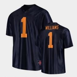 Men Illinois Fighting Illini Isaiah Williams Replica Football Black Jersey