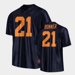 Men Illinois Fighting Illini Ra'Von Bonner Replica Football Black Jersey