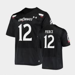Men Cincinnati Bearcats Alec Pierce Replica Black Football Jersey