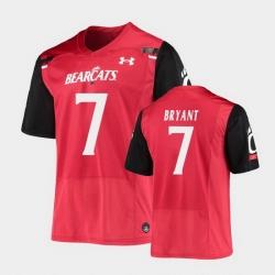 Men Cincinnati Bearcats Coby Bryant Replica Red Football Jersey