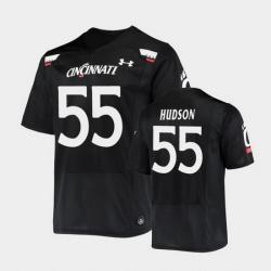 Men Cincinnati Bearcats James Hudson Replica Black Football Jersey