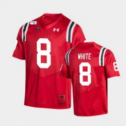 Men Cincinnati Bearcats Jarell White College Football Red Game Replica Jersey