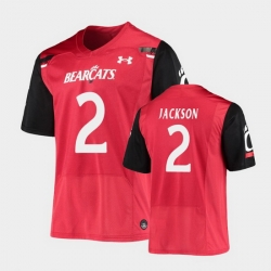 Men Cincinnati Bearcats Jayshon Jackson Replica Red Football Jersey
