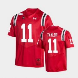 Men Cincinnati Bearcats Leonard Taylor College Football Red Game Replica Jersey