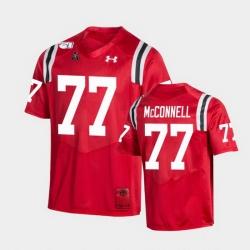 Men Cincinnati Bearcats Vincent Mcconnell College Football Red Game Replica Jersey