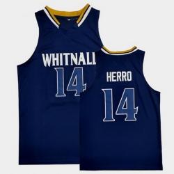 Men Ncaa Tyler Herro Whitnall High School Navy Basketball Throwback Jersey