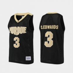 Men Purdue Boilermaker Carsen Edwards Alumni Black Basketball Jersey