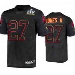 Men Ronald Jones Ii Tampa Bay Buccaneers Black Super Bowl Lv Jersey