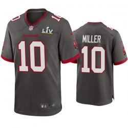 Men Scotty Miller Buccaneers Pewter Super Bowl Lv Game Jersey
