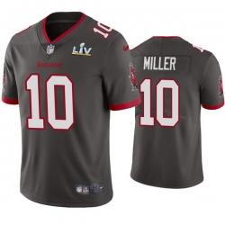 Men Scotty Miller Buccaneers Pewter Super Bowl Lv Vapor Limited Jersey