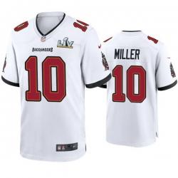 Men Scotty Miller Buccaneers White Super Bowl Lv Game Jersey