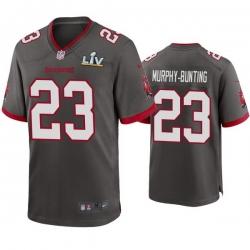 Men Sean Murphy Bunting Buccaneers Pewter Super Bowl Lv Game Jersey