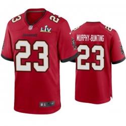 Men Sean Murphy Bunting Buccaneers Red Super Bowl Lv Game Jersey