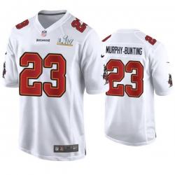 Sean Murphy Bunting Buccaneers White Super Bowl Lv Game Fashion Jersey