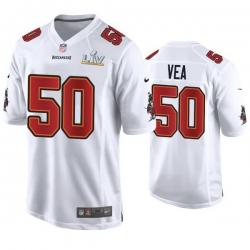 Vita Vea Buccaneers White Super Bowl Lv Game Fashion Jersey