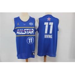 nets 11 Kyrie Irving 2021 All Star Game Blue Swingman Jersey