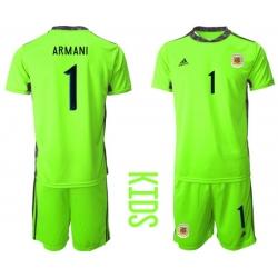 Kids Argentina Short Soccer Jerseys 022