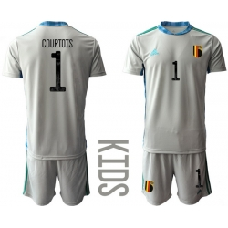 Kids Belgium Short Soccer Jerseys 017