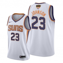 suns cameron johnson association edition white 2021 nba finals jersey