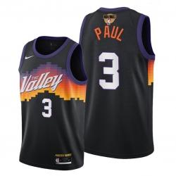 suns chris paul black 2021 nba finals bound city edition jersey