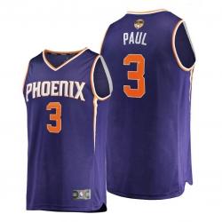 suns chris paul purple 2021 nba finals bound replica jersey