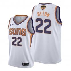 suns deandre ayton association edition white 2021 nba finals jersey