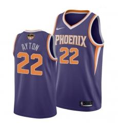 suns deandre ayton purple 2021 nba finals jersey