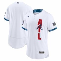 Men's Atlanta Braves Blank Nike White 2021 MLB All-Star Game Authentic Jersey