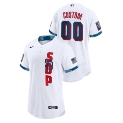 Men's San Diego Padres White 2021 MLB All-Star Game Authentic Jersey