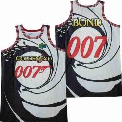JAMES BOND 007 BASKETBALL JERSEY