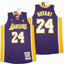 Kobe Bryant Lakers Throwback Jersey 8 24 15