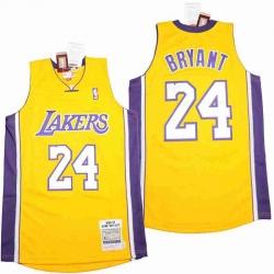 Kobe Bryant Lakers Throwback Jersey 8 24 16