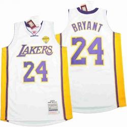 Kobe Bryant Lakers Throwback Jersey 8 24 17