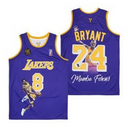 Kobe Bryant Lakers Throwback Jersey 8 24 3