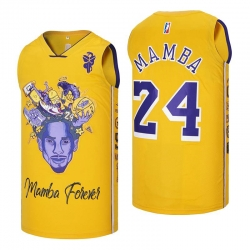 Kobe Bryant Lakers Throwback Jersey 8 24 8-24