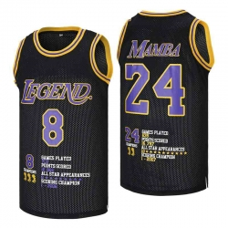 Kobe Bryant Los Angeles Lakers Crenshaw Jersey1