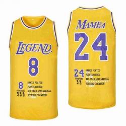 Kobe Bryant Los Angeles Lakers Crenshaw Jersey2
