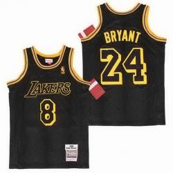 Kobe Bryant Los Angeles Lakers Crenshaw Jersey7