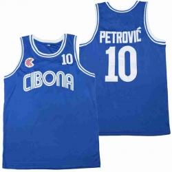 LANSHITINA 10 DRAZEN Petrovic Cibona CROATIA